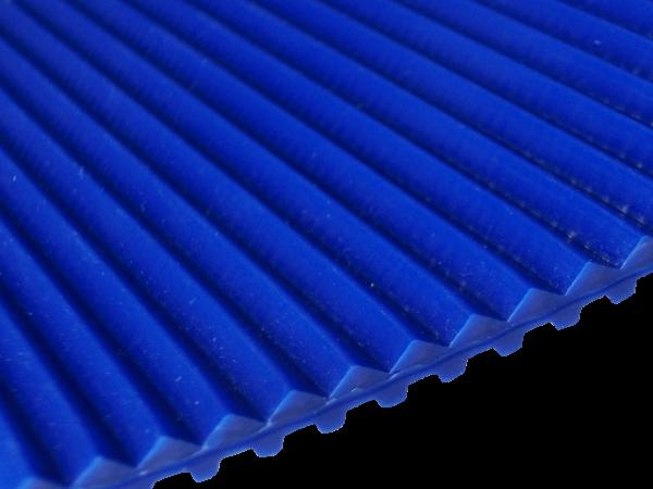Zahnriemen T5 blau Triangel 5-0 mm FDA für Lebensmittel