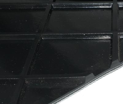 MIGCP22-36/22D PVC Transportband schwarz zweilagig