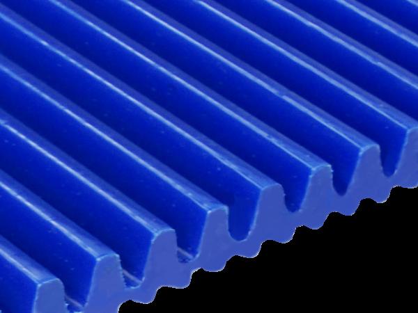 Zahnriemen T5 blau Lamelle 7,5 mm FDA für Lebensmittel
