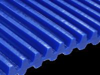 Zahnriemen T 10 Lamelle 7,5 mm FDA für Lebensmittel blau