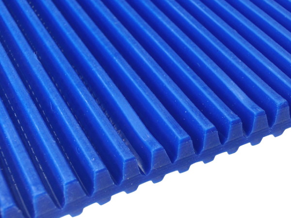 Zahnriemen T5 blau Lamelle 5 mm FDA für Lebensmittel