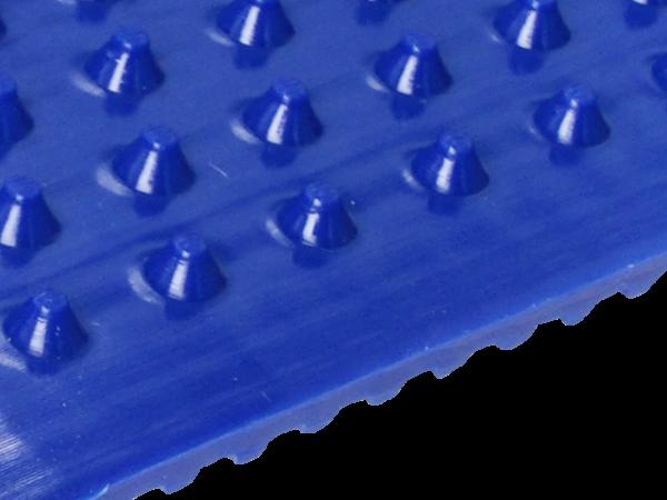 Zahnriemen T5 blau Kegelstumpf FDA für Lebensmittel