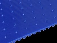 Zahnriemen T5 blau Spikes mit Versatz 17 x 10 mm FDA für Lebensmittel