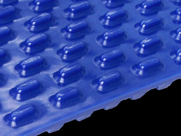 Zahnriemen T 10 Noppen 16 x 15 mm FDA blau